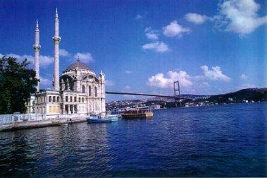 Bosphorus in Estambul